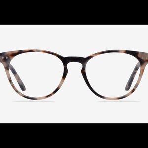 Cat Eye Ivory & Tortoise Eyeglasses